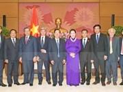 NA Chairwoman Nguyen Thi Kim Ngan receives Lao officials