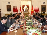 Vietnamese Party leader holds talks with Indonesian President