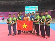 Vietnamese taekwondo artists win bronze medals in Universiade