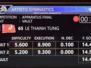 SEA Games 29: Le Thanh Tung secures gold medal in gymnastics