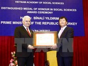 Turkish PM hailed for supporting social science ties with Vietnam