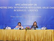 APEC promotes SMEs' integration into global value chains in logistics