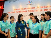Children raise voice against violence, abuse