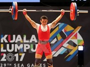 SEA Games 29: Thach Kim Tuan gets gold in weightlifting