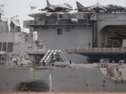 Malaysia probes collision of US destroyer