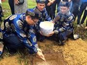 "Hue city receives Truong Sa holy earth for ""Xa Tac"" platform"