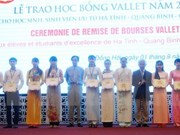 Odon Vallet scholarships granted to 193 students in Hue