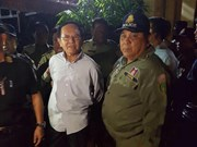 Cambodia: CNRP President arrested for treason