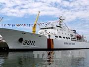 RoK Coast Guard vessel visits Da Nang