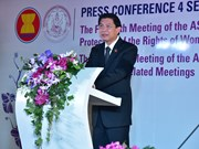 Thailand hosts regional conferences on women, children protection