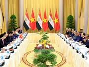 Vietnam, Egypt seal cooperation agreements