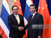 Thai, Chinese leaders vow to bolster bilateral cooperation