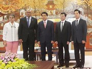 Hanoi leader welcomes leaving Cuban Ambassador
