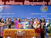 Women's Unions of Vietnam, Laos seek to foster cooperation