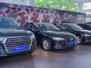 Second batch of Audi cars delivered to serve APEC