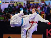 Vietnamese athlete wins gold at world karate league