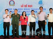 Vietnamese, Cambodian youths conclude friendship meeting