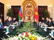Vietnam, Azerbaijan discuss ways for stronger cooperation