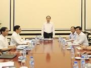 President urges thorough preparations for APEC