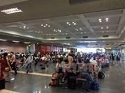 Airlines cancel flights due to Storm Doksuri