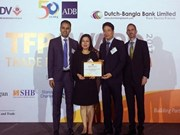ADB again names BIDV as Vietnam's leading partner bank