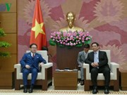 Vietnamese Party official meets Japanese trade minister