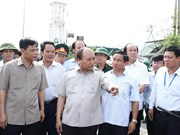 PM urges Ha Tinh to restore production in five days
