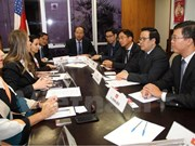 Vietnamese party delegation visit Brazil
