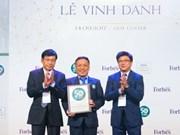 Petrolimex tops Forbes' Vietnamese companies list