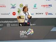 Vietnam's swimmer Vi Thi Hang breaks Para Games record