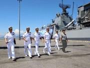 RoK's naval ships visit Da Nang city