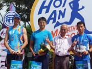Japanese, Thai win Hoi An Int'l Marathon