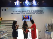 TH Group's organic milk wins international award