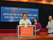 Vietnam Front calls for post-storm relief donation