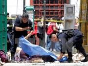 Sympathy to Mexico over earth quake losses