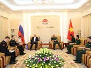Vietnam tightens ties with Russia, Philippines
