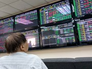 Shares volatile as market corrects