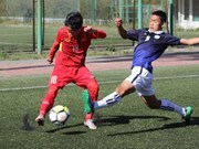 U16 qualifier: VN's 10 men beat Cambodia 5-2