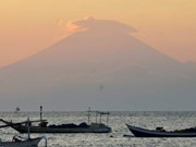 Indonesia raises alert level of volcano in Bali to highest