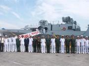 Indian navy ships visit Hai Phong city