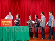 Overseas Vietnamese in Laos help disaster victims