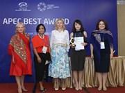 Vietnam's women entrepreneurs win APEC awards