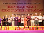Action Month for the Vietnamese Elderly launched