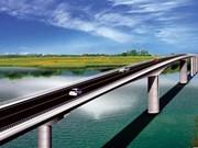 Nam Dinh: Work begins on Thinh Long bridge over Ninh Co Rive