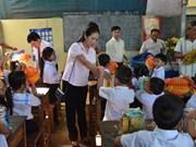 OVs in Cambodia build school for students in remote area