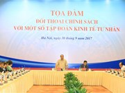 PM holds policy dialogue with leading private firms