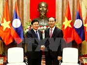President: Vietnam gives top priority to boosting ties with Laos