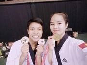 VN taekwondo artists win gold medals at Canada Open