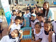 Kids in Binh Duong learn about nutrition, physical development