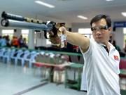 Hoang Xuan Vinh still tops men's 10m air pistol world rankings